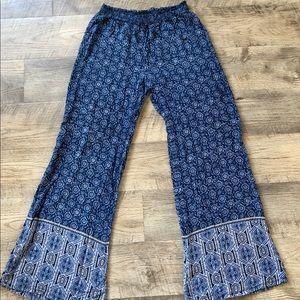 Full tilt blue boho pants